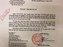 Chủ tịch UBND TP.Hà Nội đã giao Giám đốc Sở Y tế chỉ đạo kiểm tra thông tin, cũng như xử lý các sai phạm.