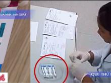 Hàng nghìn que thử HIV, viêm gan B bị cắt đôi trước khi tiến hành xét nghiệm