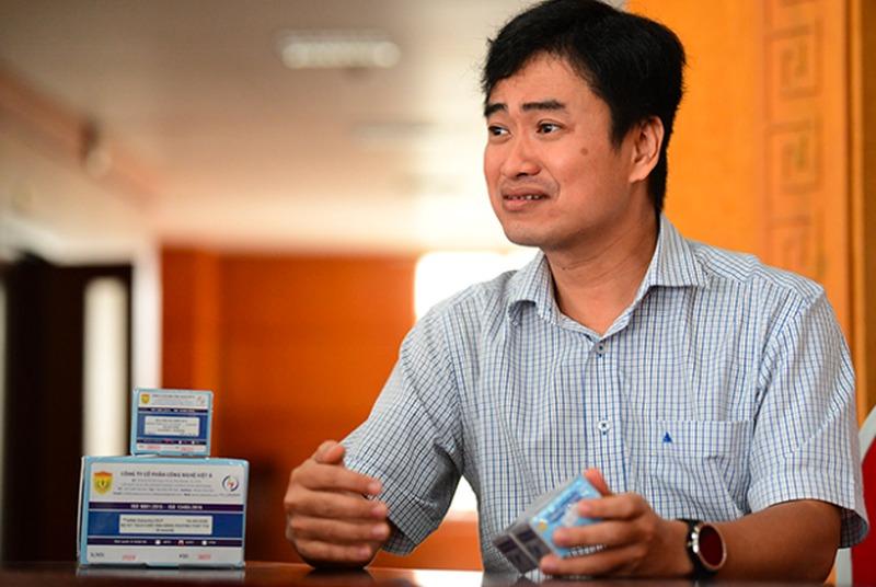 Ông Phan Quốc Việt, người đại diện pháp luật kiêm Tổng Giám đốc Việt Á